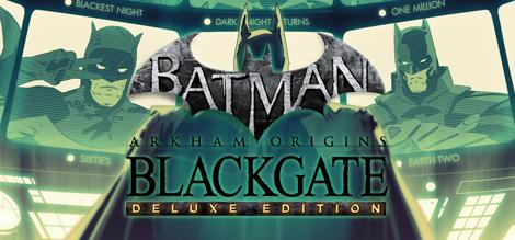cover for Batman: Arkham Origins Blackgate - Deluxe Edition