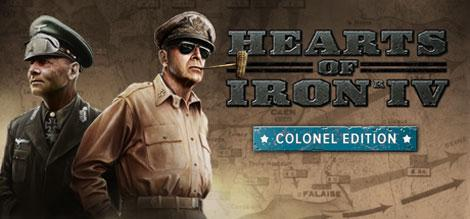 cover for Hearts of Iron IV: Colonel Edition
